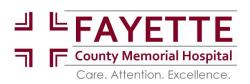 Welcome Fayette County Memorial Hospital Employees!