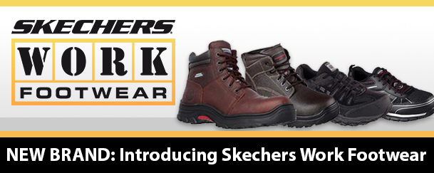 Introducing Skechers Work Footwear